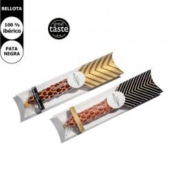 iberischen Lendenwurst Salchichón mit Trüffel und iberischen Lenden-Chorizo